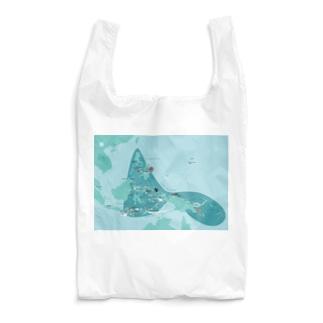 コーラルトライアングル ダイビングマップ Reusable Bag