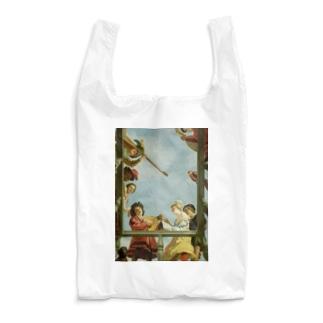 ヘラルト・ファン・ホントホルスト 《バルコニーの音楽隊》 Reusable Bag