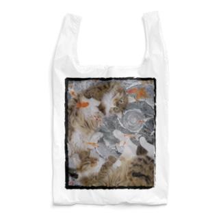 猫と金魚 Reusable Bag