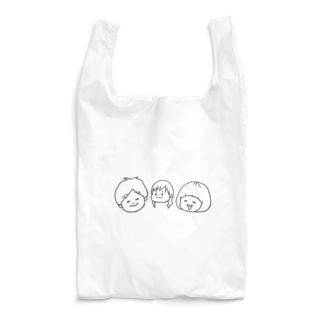 おかっぱ家 Reusable Bag