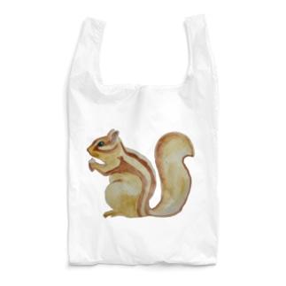 ❤️シマリスだわっ💕🐿 Reusable Bag