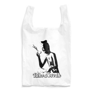 Take a break(バック) Reusable Bag