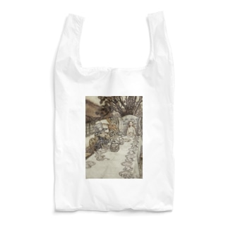 アーサー・ラッカム《不思議の国のアリス》 Reusable Bag