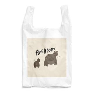 熊のおやこ Reusable Bag
