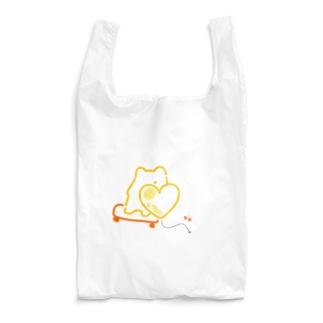 スケボーちゅうのポメ Reusable Bag