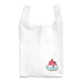 かき氷とペンギンたち② Reusable Bag