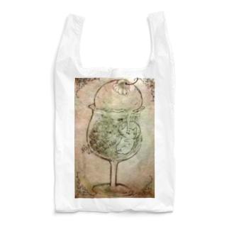 ねこねこわくわくクリームソーダ Reusable Bag