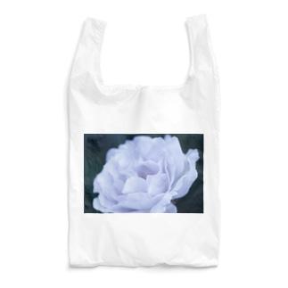 白バラ Reusable Bag