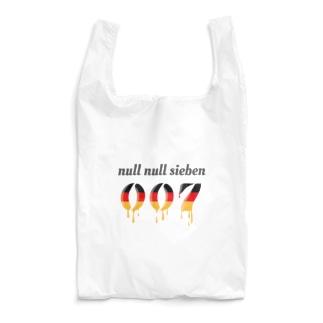 ぬるぬるズィーベン 007 null null sieben Reusable Bag