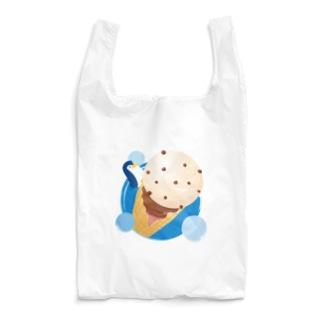 アイスとぺんぎん Reusable Bag