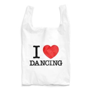 I Love Dancing アイラブ ダンス ダンシング ダンサー I LOVE ♡ Dancing Reusable Bag