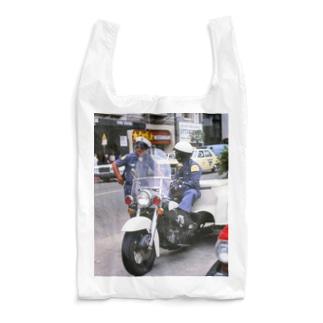 アメリカ:ロサンゼルス市警の警察官 U.S.A.: Policemen in Los Angels Reusable Bag