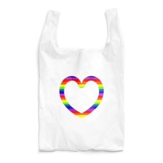 レインボーハート♡ Reusable Bag