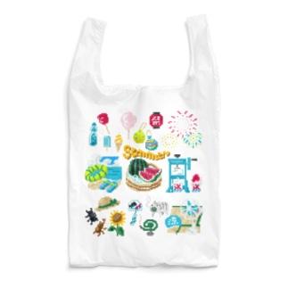 ドットSummer no.2 Reusable Bag