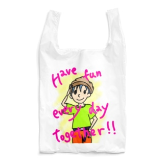 Have fun every day together! Reusable Bag