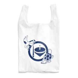 鶴亀(紺 Reusable Bag
