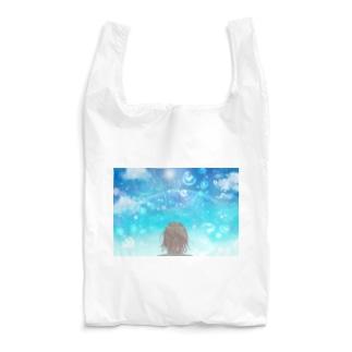 水しぶきの中の虹 Reusable Bag