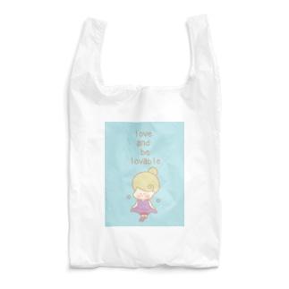 Kana's yururi ギャラリーの愛し、愛らしくあれ。 Reusable Bag