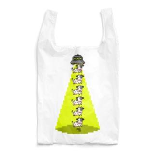 UFOと牛縦型 Reusable Bag