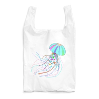 Colorfulジェリーフィッシュ Reusable Bag