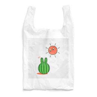 スイカうさぎ Reusable Bag