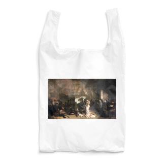ギュスターヴ・クールベ(画家のアトリエ)のグッズ Reusable Bag