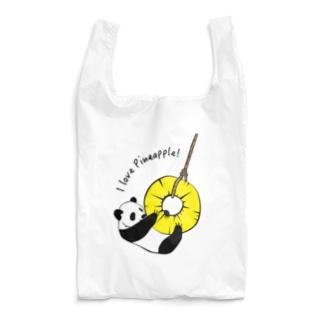 パインとパンダ Reusable Bag