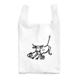 荒ぶる雄牛(Snorting Bull) Reusable Bag