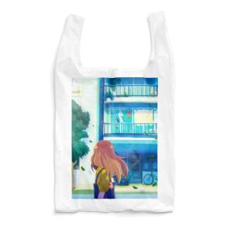 街中のヒーロー Reusable Bag