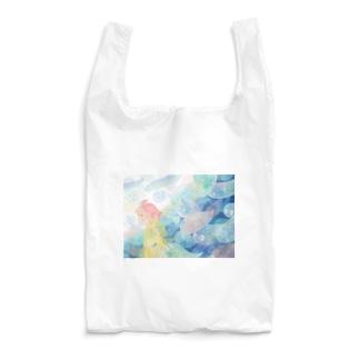 雨の日のおばけ Reusable Bag