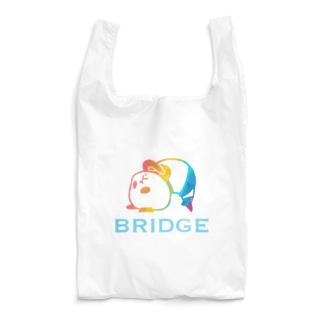 パンダプロレス ブリッジ 虹色 Reusable Bag