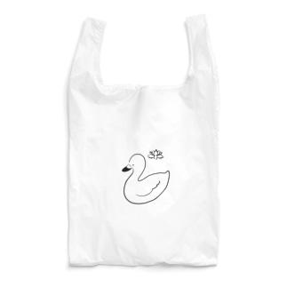 白鳥とハス Reusable Bag