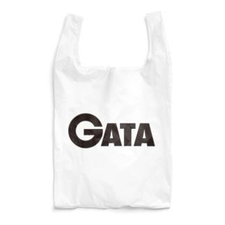 GATAロゴ【黒】 Reusable Bag