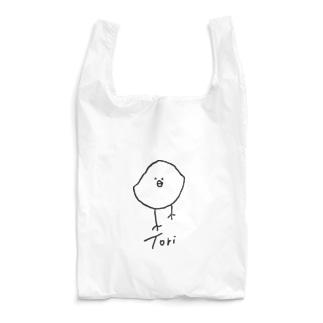 ゆっくりと近づいてくるTori-黒大- Reusable Bag