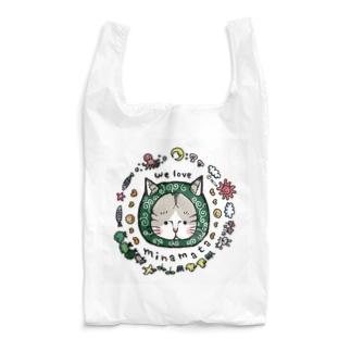 〜からくさねこ〜 we love minamata Reusable Bag