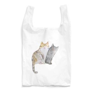 ねこちゃん姉妹 Reusable Bag