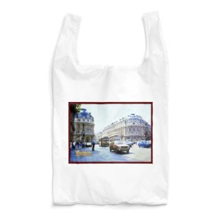 フランス:パリ9区の風景写真 France: view of Paris Reusable Bag