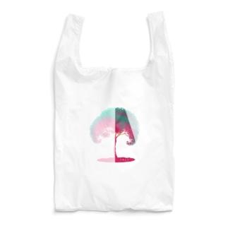 チラ見せの木 Reusable Bag
