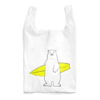 しろくまサン、サーフィンに目覚める? Reusable Bag