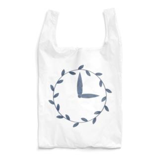 時計/grass Reusable Bag