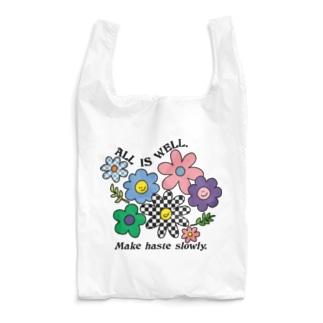 🌼お花スマイル🌼 Reusable Bag