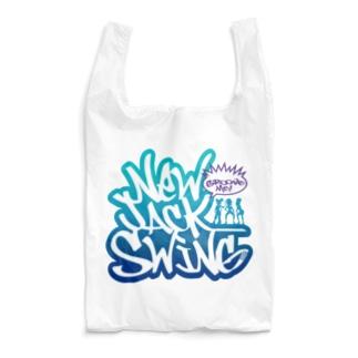 New Jack Swing blue  Reusable Bag