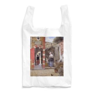 世界の絵画アートグッズのピーテル・デ・ホーホ 《デルフトの中庭》 Reusable Bag