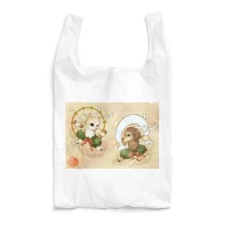 風犬雷犬図屏風 Reusable Bag