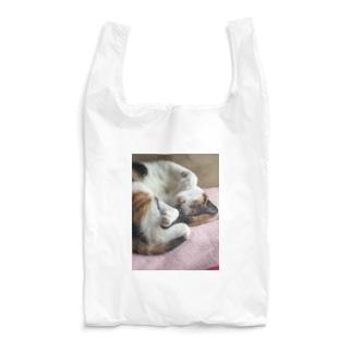 愛猫モモ Reusable Bag