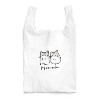 ご機嫌と不機嫌なHamusutar-色淡大- Reusable Bag