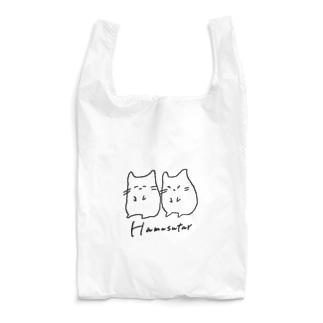 ご機嫌と不機嫌なHamusutar-黒大- Reusable Bag