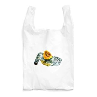 かぼちゃとアルミホイル(枠なしver) Reusable Bag