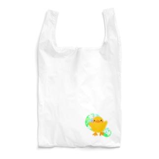 ほわピヨちゃん 背景あり② Reusable Bag