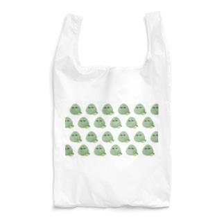 こんぶおにぎり羅列白 Reusable Bag